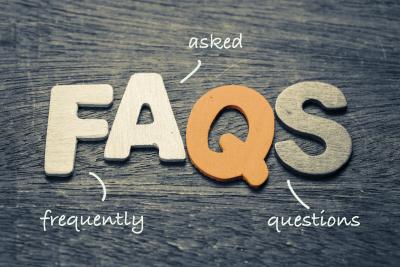 portrait of FAQS letters